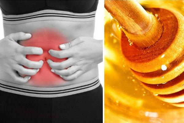 درمان معده درد با عسل و دارچین