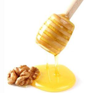 بررسی خواص گردو با عسل