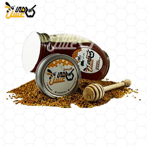 عسل چهل گیاه کامی عسل -عسل طبیعی کردستان -عسل ۴۰ گیاه