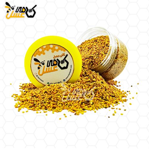 گرده گل کامی عسل -عسل طبیعی کردستان
